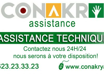 affiche conakry assistance